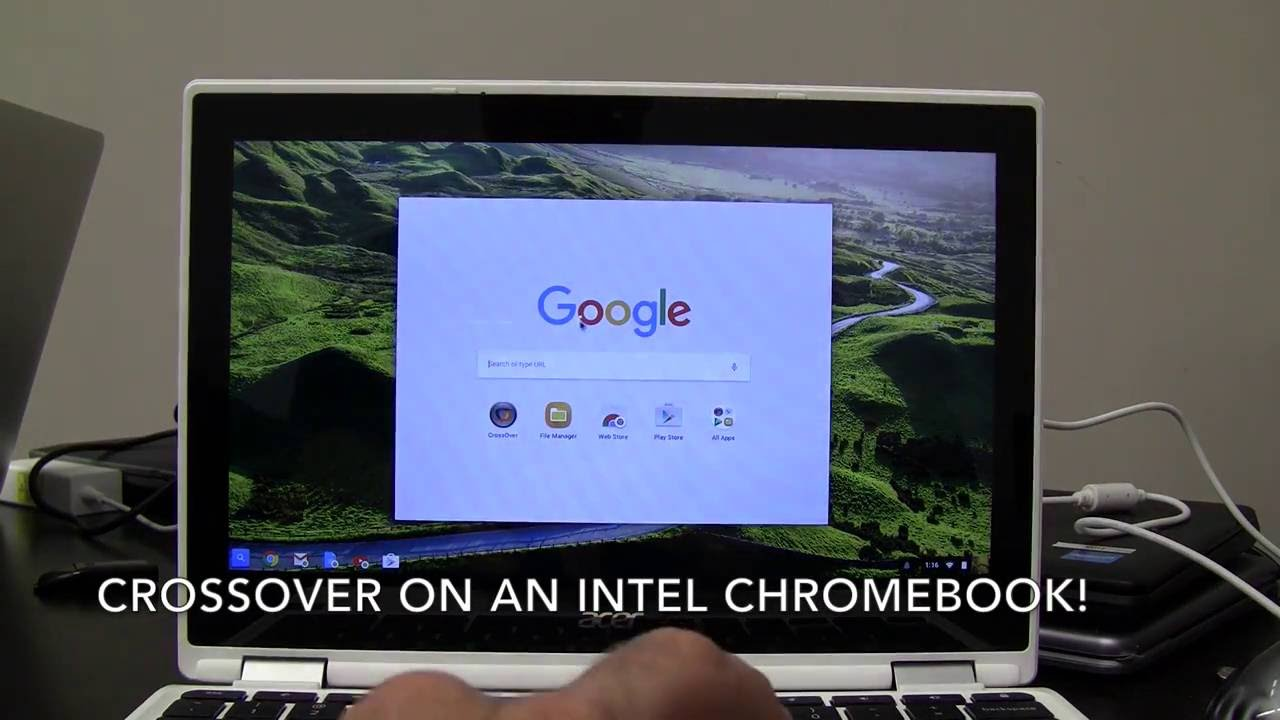 CrossOver will let you run Windows apps on Chromebooks