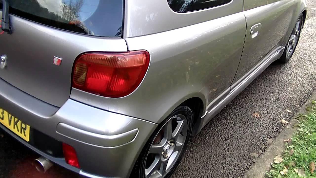 Toyota Yaris Ts Trd All New Kijang Innova Vs Pajero Sport Www Bennetscars Co Uk 2003 1 5 Tsport 67k Now Sold