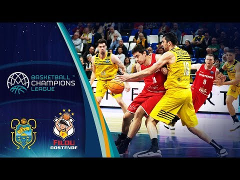 Iberostar Tenerife V Filou Oostende – Highlights – Round Of 16 – Basketball Champions League 2019-20