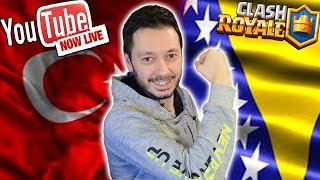 TÜRKİYE VS BOSNA HERSEK ESPOR MAÇI CANLI YAYIN! CLASH ROYALE