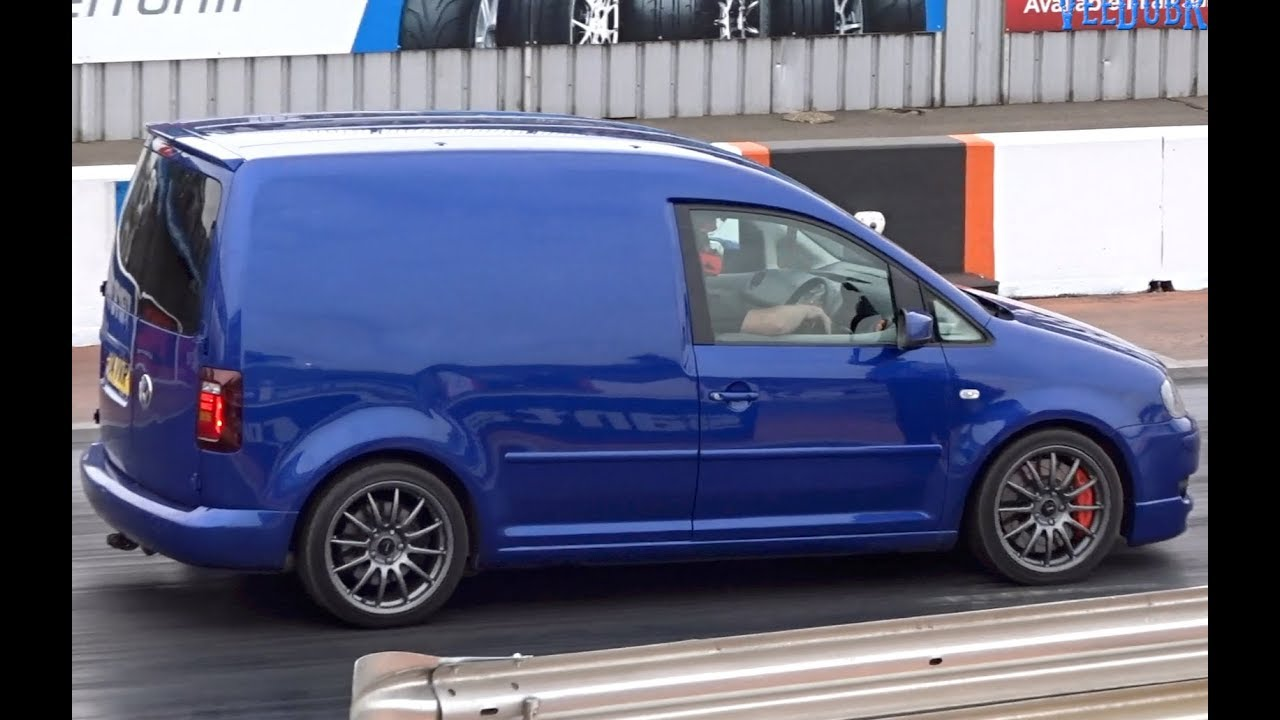 500bhp Awd Vw Caddy R Street Sleeper 1 4 Mile 11 72 116mph