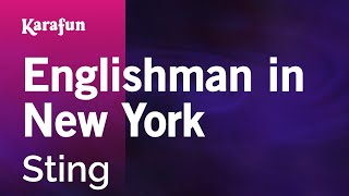 Karaoke Englishman In New York - Sting *