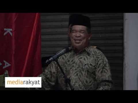 (10/10/2018) Mat Sabu: Ceramah Bersama Rakyat Di Port Dickson