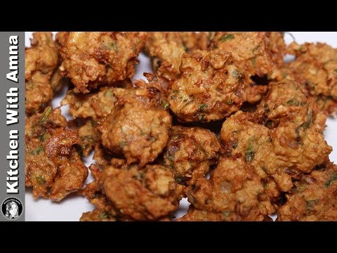 Keema Pakora Recipe | Ramadan Recipes For Iftar | Kitchen With Amna