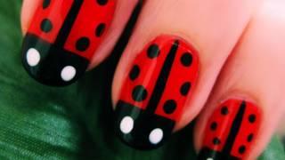 Cute & Easy: Lady Bug Nail Art