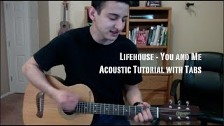 Download Lifehouse - You and Me (Guitar Lesson/Tutorial with Tabs) MP3 song and Music Video