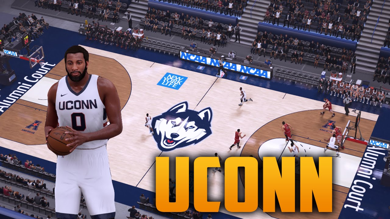 bca4ee73e1c NBA 2K16 UConn Court   Jersey Tutorial