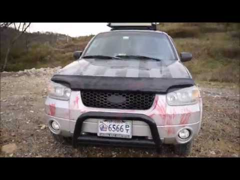Lifted Ford Escape >> Lifted Straight Piped Ford Escape Walkaround