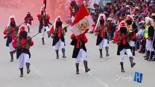 Desfile de Chinchilpos y Gamonales 2018 - Huayucachi ᴴᴰ✓ Oficial