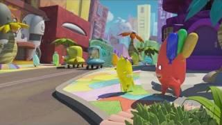 de Blob Nintendo Wii Gameplay - Cinematic Opening