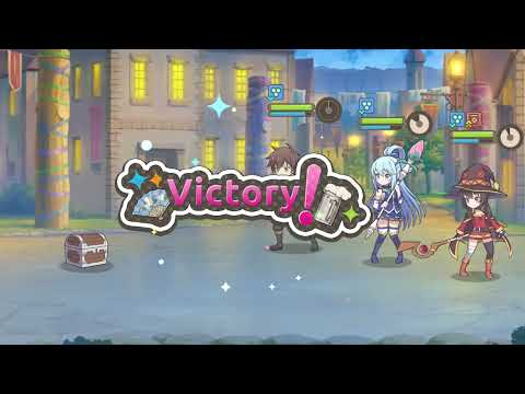 KonoSuba: Fantastic Days - App Store Trailer (English)