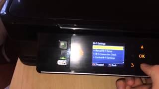 How to find my epson printer IP address
