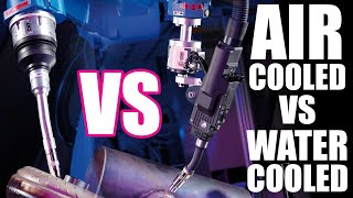 Air-Cooled vs Water-Cooled Robotic MIG Torches