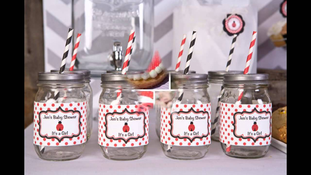 Good Ladybug Baby Shower Decorations   YouTube