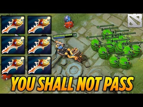 Techies Rapier Game [YOU SHALL NOT PASS!] Dota 2