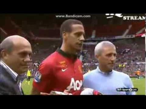 Rio Ferdinand Trophy Manchester United vs Sevilla 09.08.2013