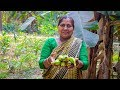 Vegetable Recipe: Green Banana Fried Recipe in Village Food Factory
