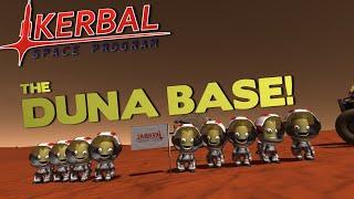 THE DUNA BASE! - Kerbal Space Program