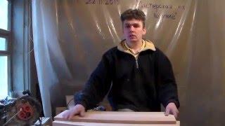 Часть 4 - еще немного о фрезеровке пазов на ступенях. Изготовление одномаршевой деревянной лестницы.(Это видео о мелочах, связанных фрезеровкой пазов на ступенях., 2016-03-22T08:37:19.000Z)