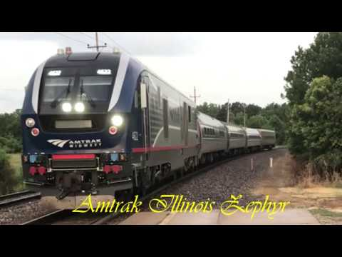 Quincy to Chicago Ride on Amtrak's Illinois Zephyr (Round Tr