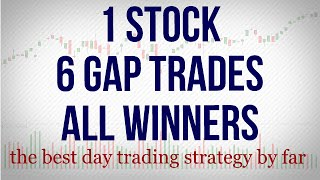 6 Gap Fill Trades on just ONE stock
