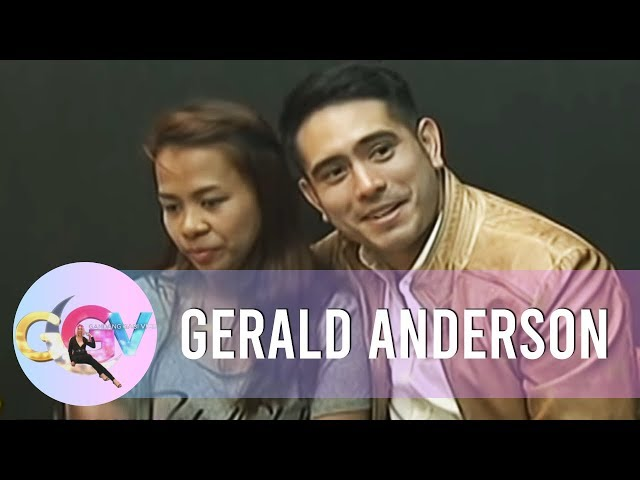 GGV: Can you not smile if you see Gerald Anderson?