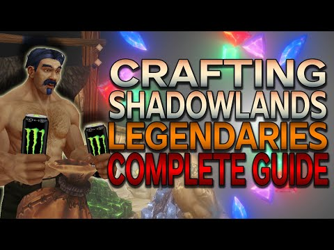 Crafting Shadowlands Legendaries Complete Guide – Ranks & Upgrading & Runecarving Professions