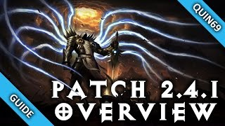 diablo 3 patch 2 4 1 overview my thoughts