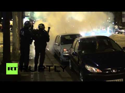 France: Paris goes ballistic as Algeria fans celebrate