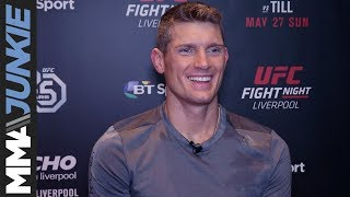 UFC Liverpool: Stephen 'Wonderboy' Thompson full pre-fight interview