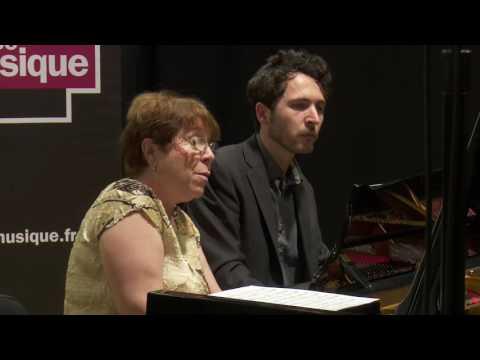 Rena Shereshevskaya et Julien Kurtz Le live de la Matinale 130616