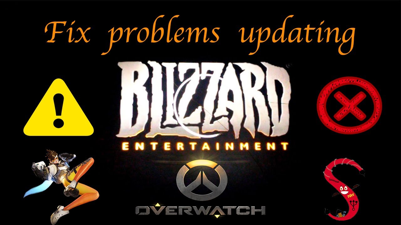 How to fix problems updating Overwatch