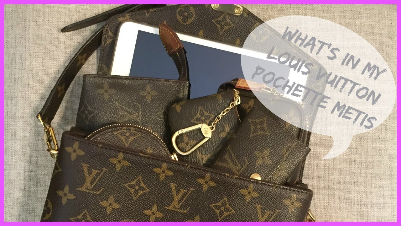 2b725685cfb2 What s In My Bag   Louis Vuitton Pochette Metis - YouTube