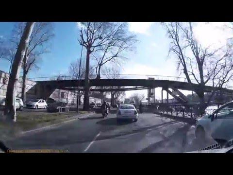 Driving In Paris & Suburbs - 11/02/2016