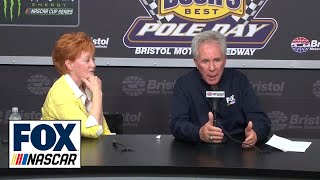 Darrell Waltrip retires from broadcasting | Full Press Conference | NASCAR on FOX