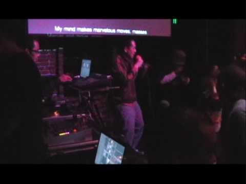 The Rhyme Along - Hip Hop Karaoke LA - 12.05.09 - Alphabet Aerobics performed by DJ Kooyaa