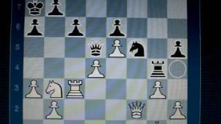 Chessmaster 10 vs Rybka 3 handicap f7 0:1