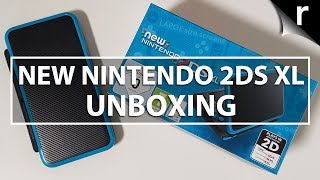 New Nintendo 2DS XL unboxing and hands-on