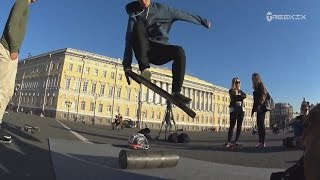 Трюки на баланс борде TREEKIX / Balance board tricks with TREEKIX / #2(, 2015-09-04T18:22:04.000Z)