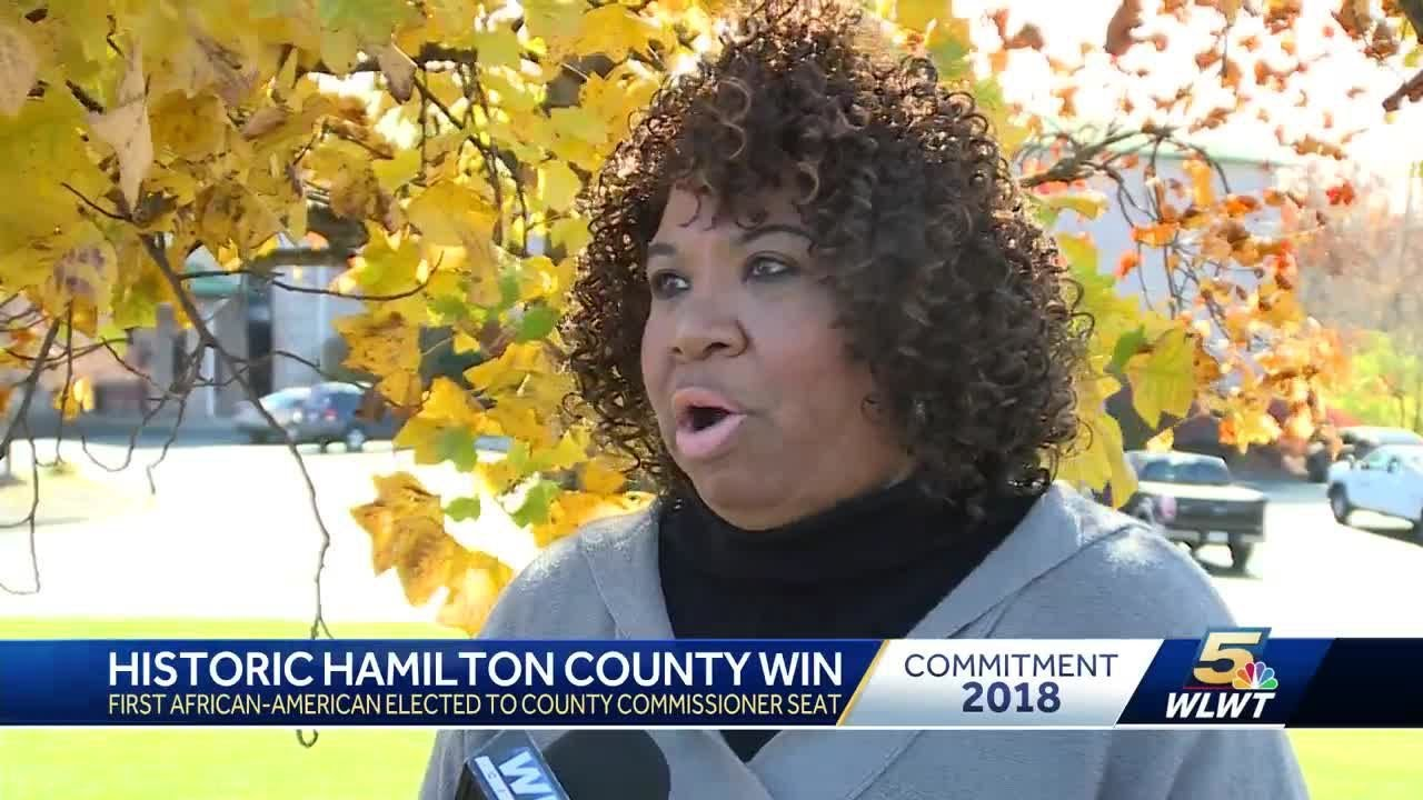 First African-American woman elected to Hamilton County commissioner seat