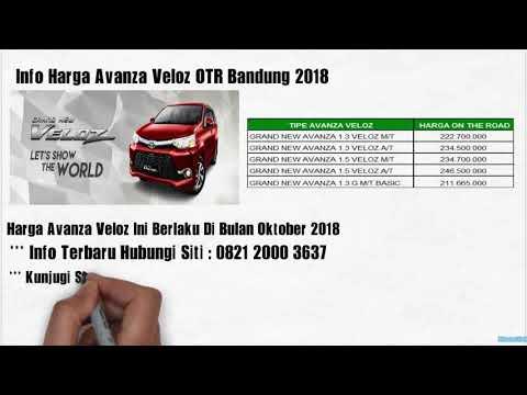 Otr Grand New Avanza All Toyota Camry Malaysia Harga Veloz Wijaya Dago Bandung Youtube