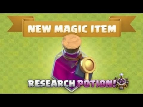 NEW UPDATE !! RESEARCH POTION FULL INFORMATION..........