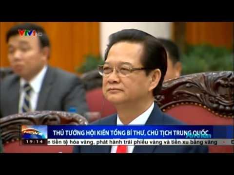 Thủ tướng Chính phủ Nguyễn Tấn Dũng hội kiến Tổng Bí thư, Chủ tịch Trung Quốc Tập Cận Bình
