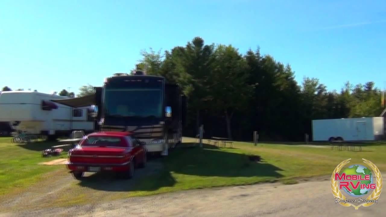 Timberland Acres Rv Park Trenton Maine Youtube