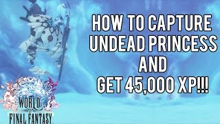 How To Capture Undead Princess and get 45,000xp! | World of Final Fantasy