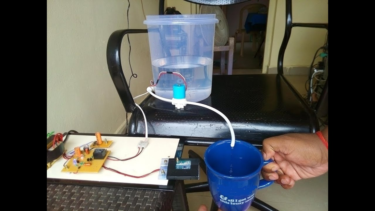 automatic water tap project pdf