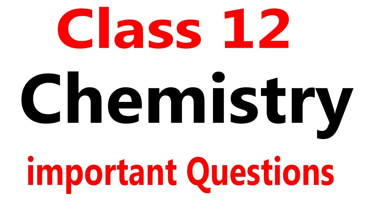 2nd year chemistry guess paper 2019 | 12th class chemistry guess paper 2019  ,