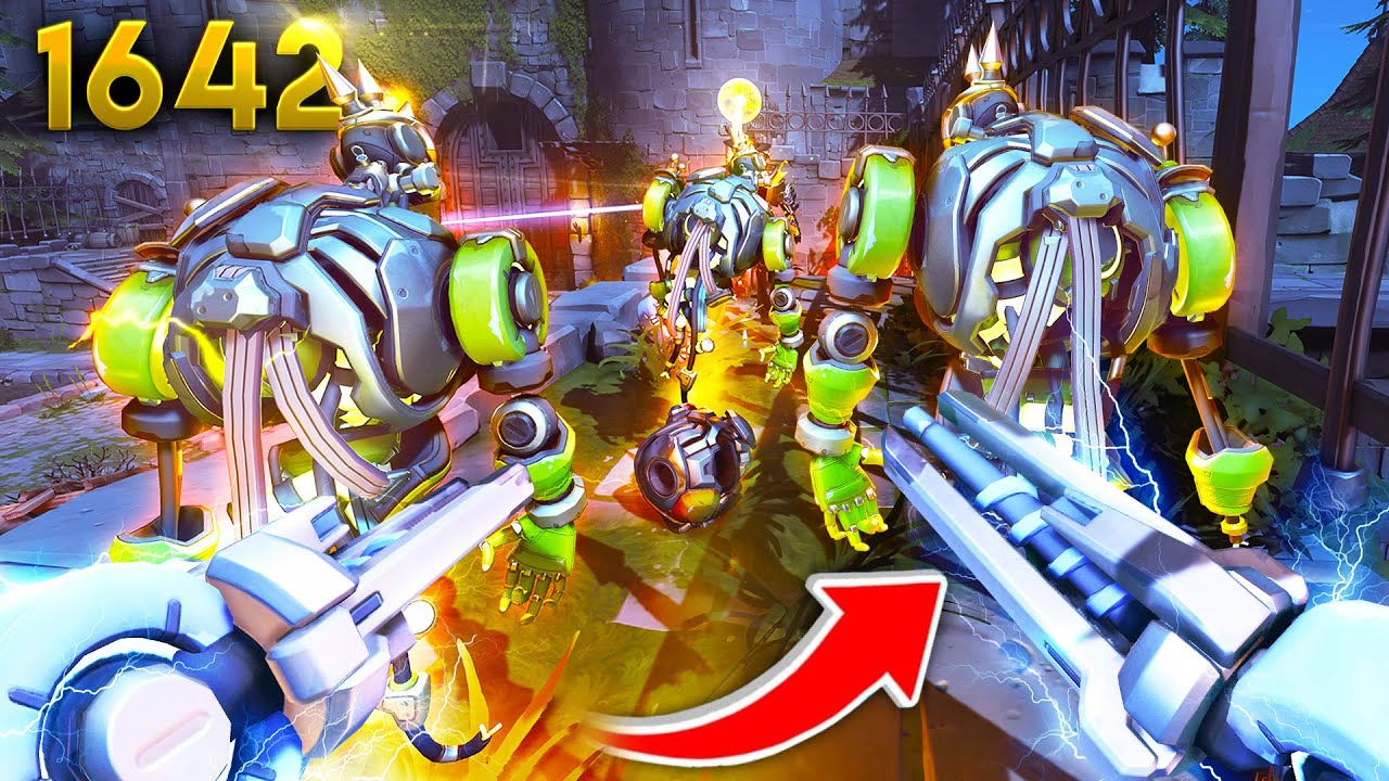 Junkenstein's Revenge, but you play as the Villains! 😈 | Overwatch Daily Moments Ep. 1642