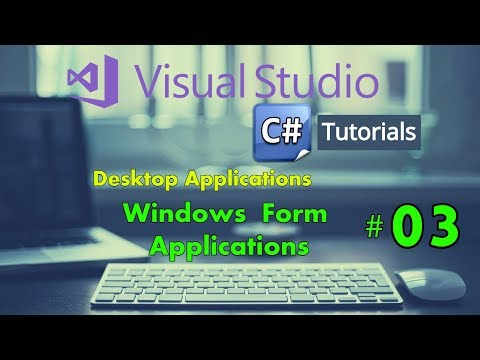 Close Existing Windows Form C# & Open New Form - 03 Windows Form Application C#