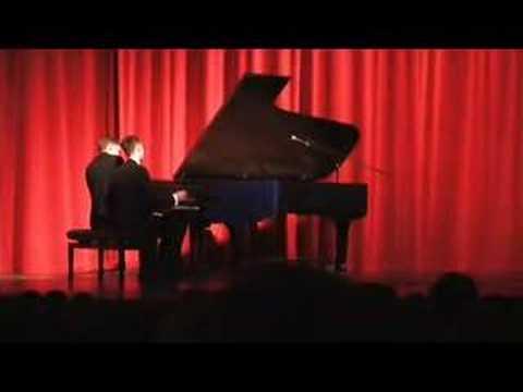 2nd Hungarian Rhapsody - Piano Comedy Duet